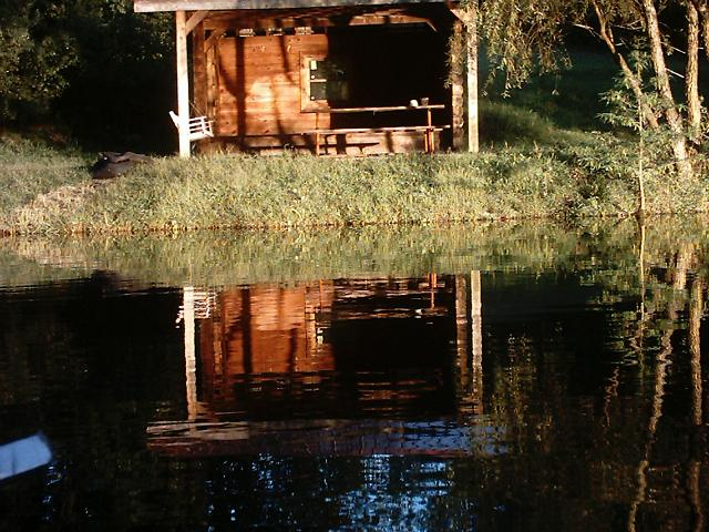 Inside of Lake Shelter (from lake)