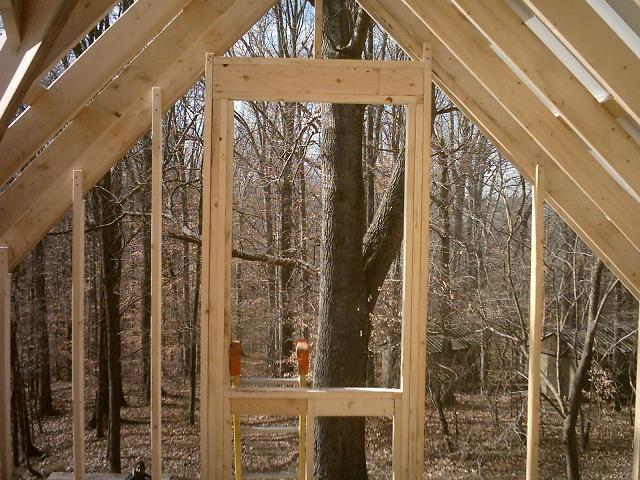 West Loft Window Frame