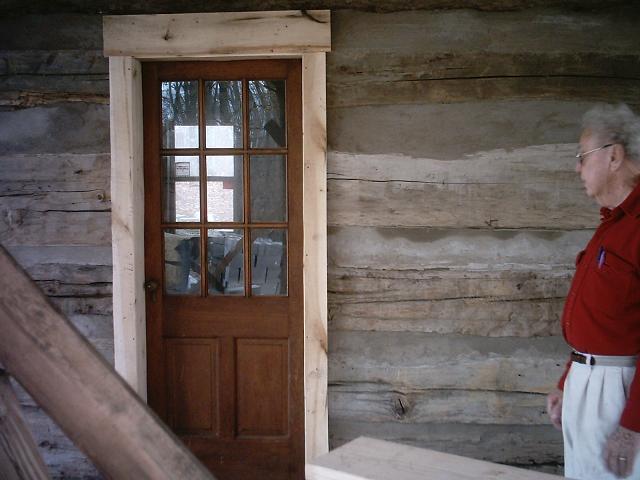 West door Exterior